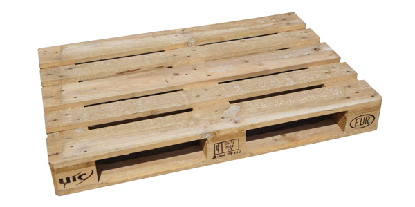 Standard recycled Europallet